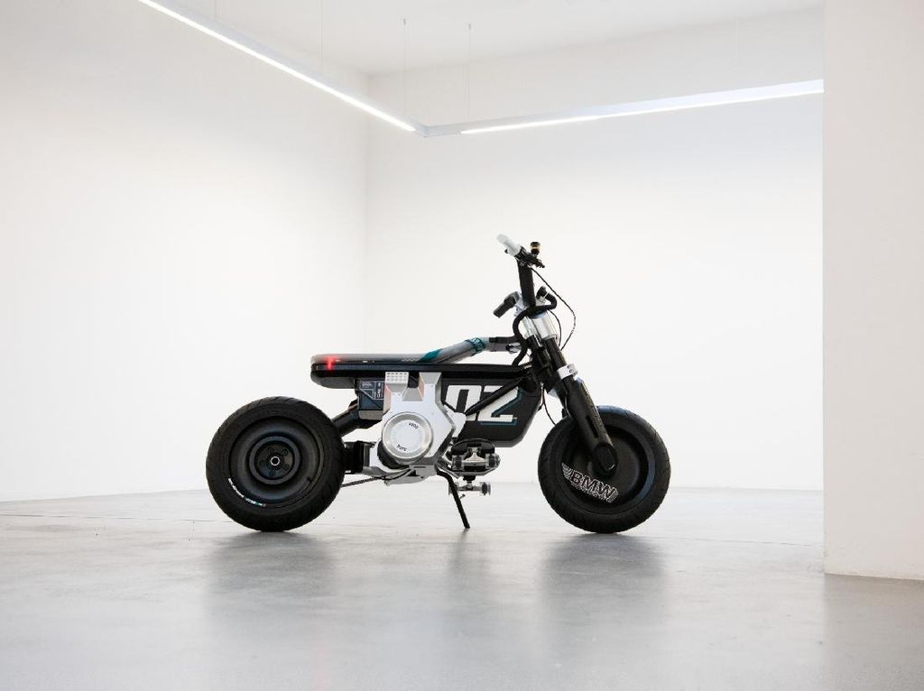 Motor Listrik Konsep Terbaru BMW Dipanggil Mini Bike CE 02