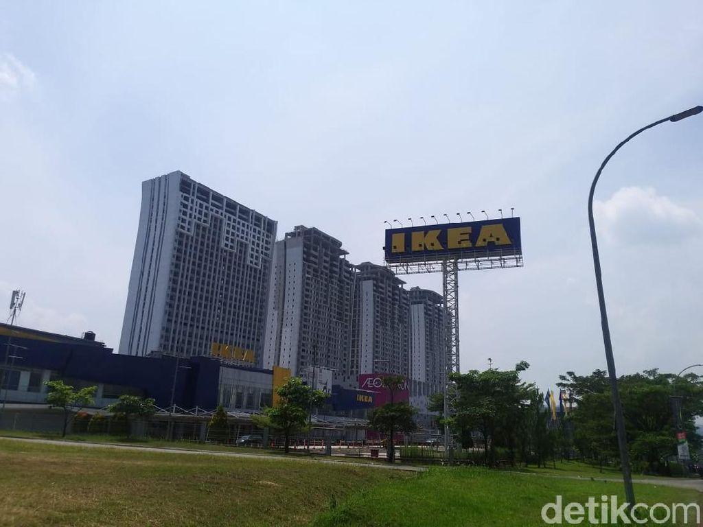 Menengok IKEA Sentul yang Tanah dan Bangunannya Dijual Rp 280 M
