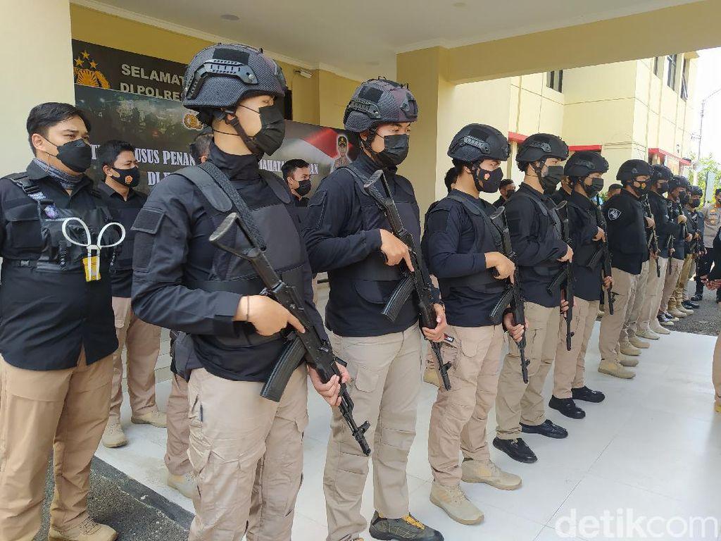 Tekan Angka Kriminalitas, Polres Cianjur Bentuk Tim Maung