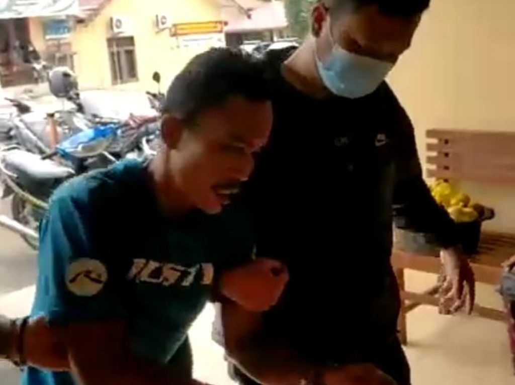 Polisi Tangkap Residivis Pencuri Televisi di PN Rantauprapat Sumut