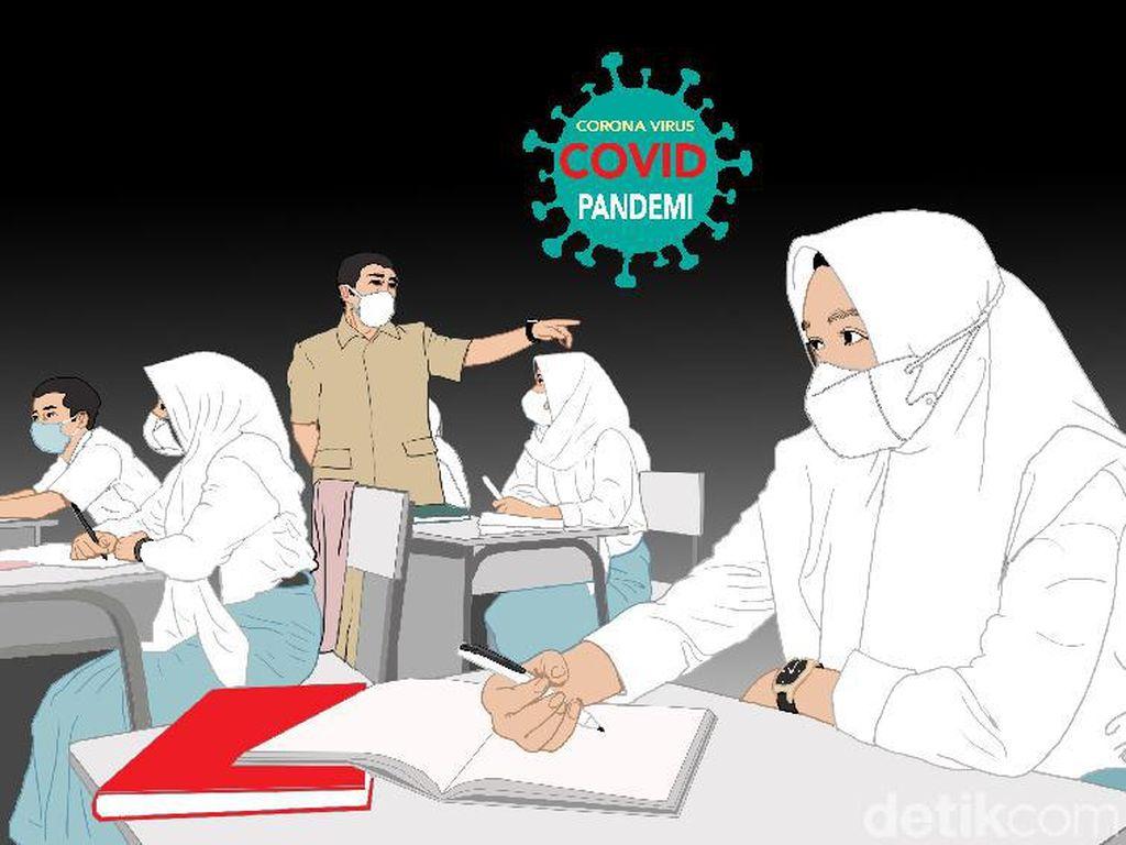 369 SD dan 60 SMP di Kota Bekasi Gelar Belajar Tatap Muka Hari Ini