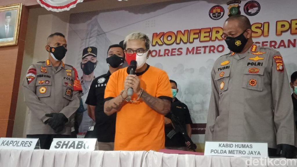 Potret Coki Pardede Berbaju Tahanan, Sampaikan Penyesalan