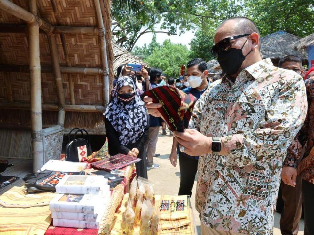 DPD Resmikan Program Pemberdayaan Masyarakat Desa di Lampung