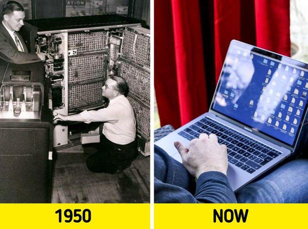 Potret Perubahan Dunia yang Dramatis Dulu dan Sekarang