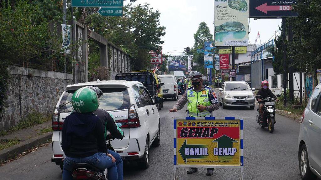 Cek Lagi, Ganjil Genap di Lembang Bandung Mulai Diberlakukan