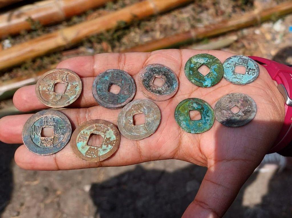 Uang Kuno yang Ditemukan di Lamongan dari Dinasti Song Abad 10-12 Masehi