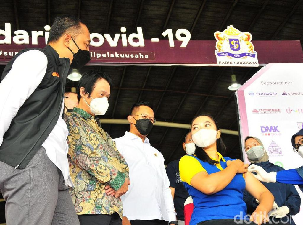 Kadin Surabaya dan EO Geber Vaksinasi Demi Percepat Pemulihan Ekonomi