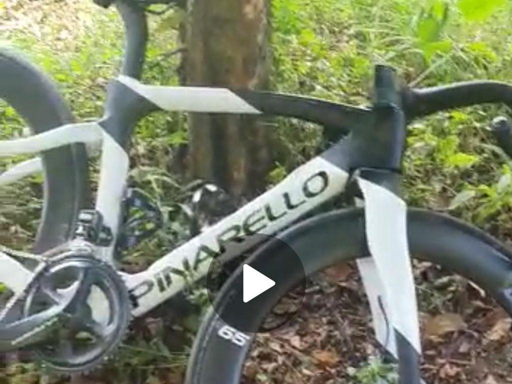 Penampakan Road Bike di Kecelakaan Tragis Pesepeda di Km 0 Puncak