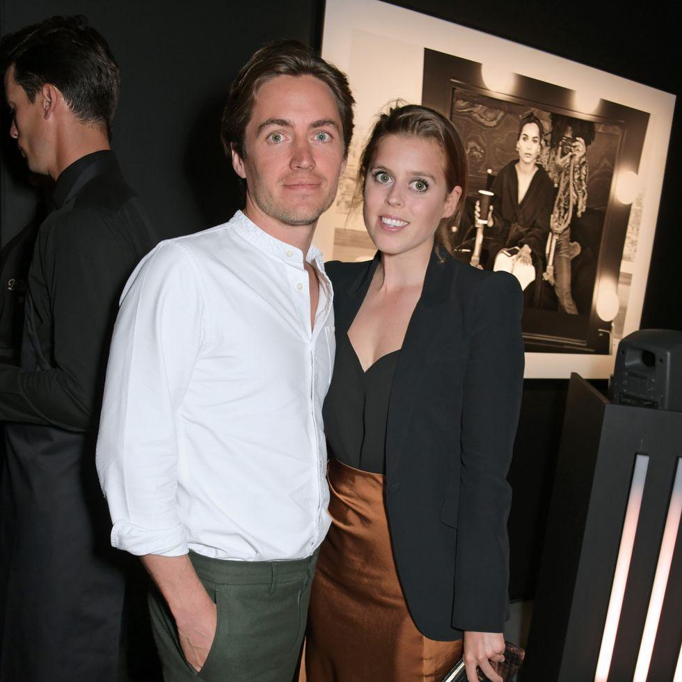 Putri Beatrice dan Edoardo Mapelazzi Mozzi