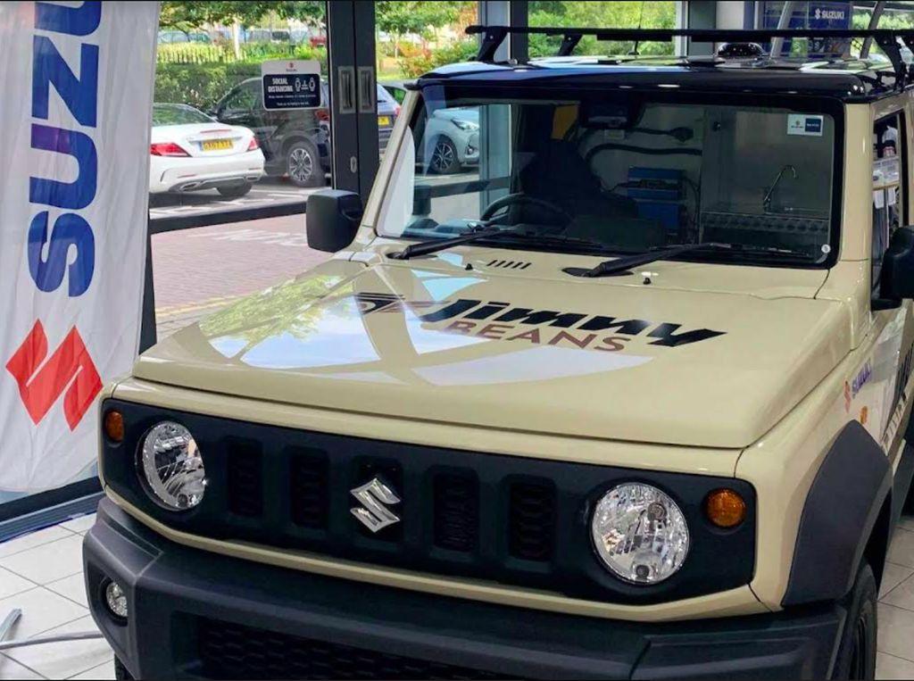 Suzuki Jimny Ini Disulap Jadi Kedai Kopi Keliling