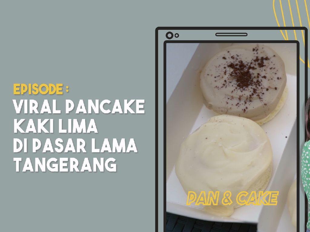 Antre 2 Jam Demi Souffle Pancake Jepang di Pasar Lama Tangerang