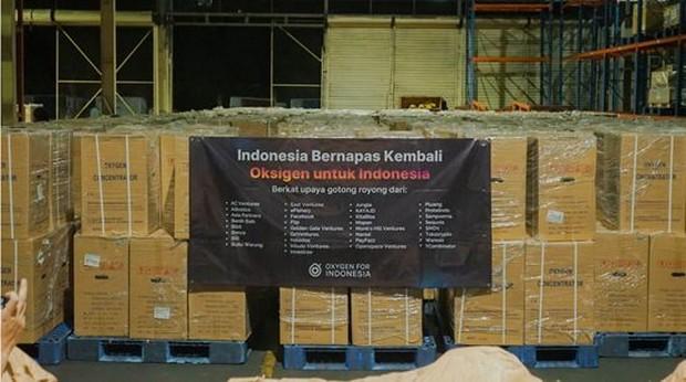 Gerakan Oxygen For Indonesia berhasil mendistribusikan oksigen konsentrator ke berbagai wilayah di Indonesia