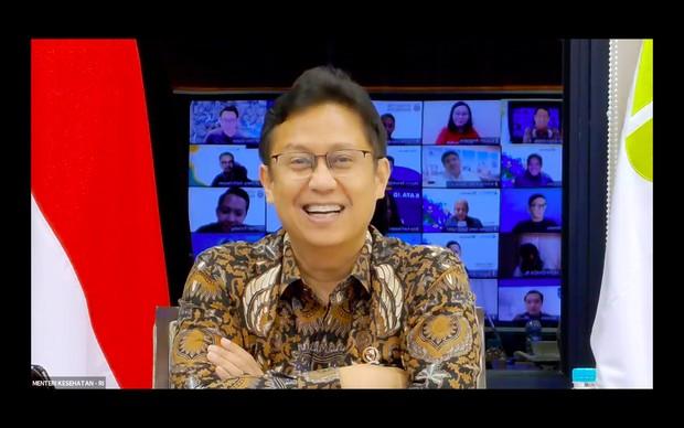 Menkes Budi Gunadi Sadikin membuka acara apresiasi para relawan Oxygen For Indonesia