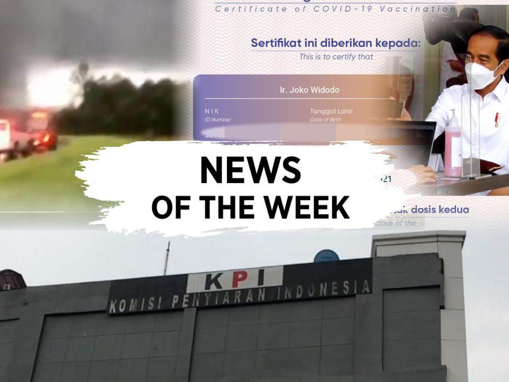 News of The Week: Data Jokowi Bocor-Isu Pelecehan Seksual di KPI