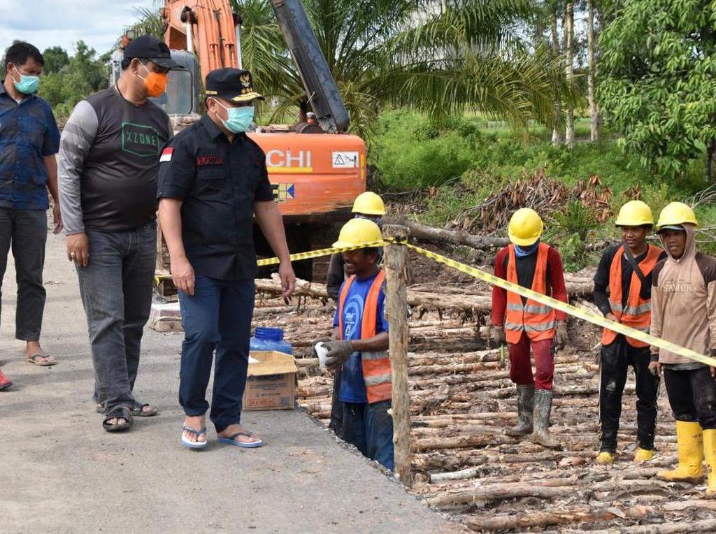 Gubernur Kalteng Minta Truk ODOL Ditindak Tegas Cegah Kerusakan Jalan