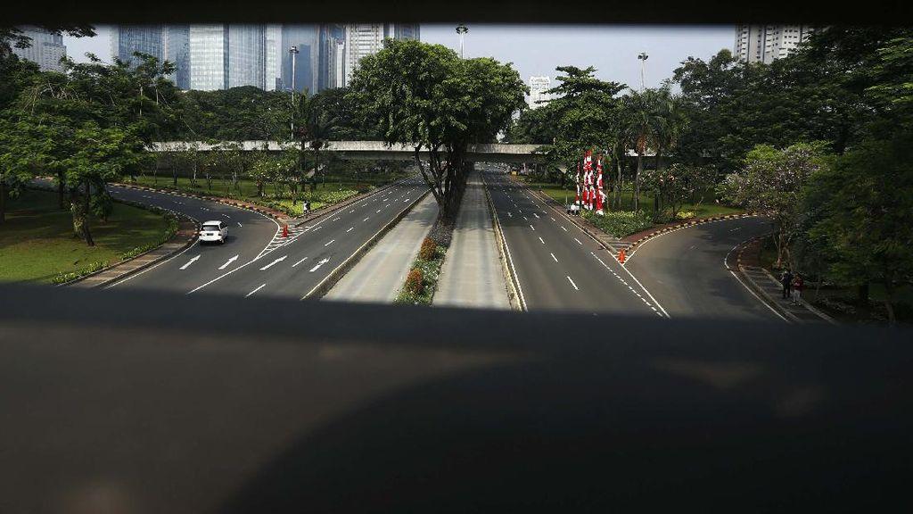 Pesepeda Masih Dilarang Masuk Jalan Jenderal Sudirman