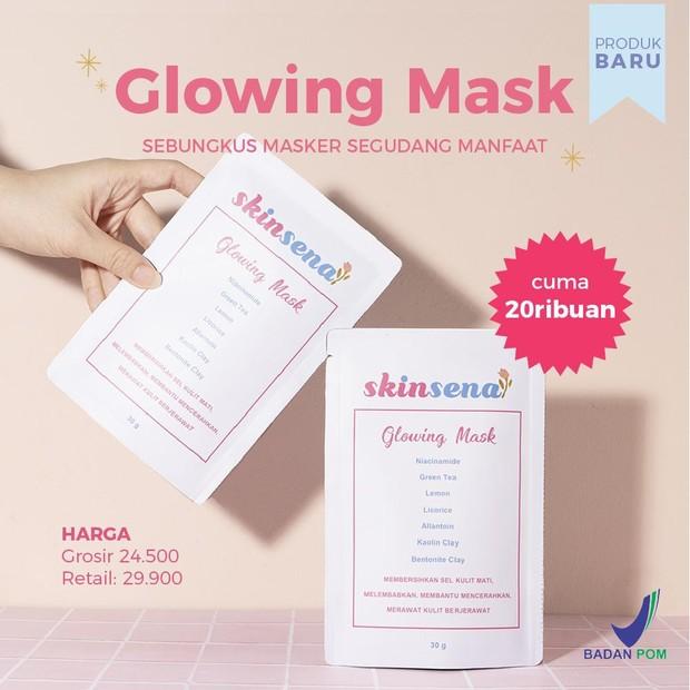 Produk Masker Skinsena, Glowing Mask