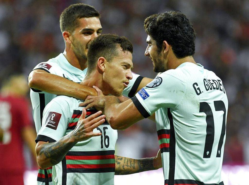 Hasil Laga Uji Coba: Portugal Bekuk Qatar 3-1
