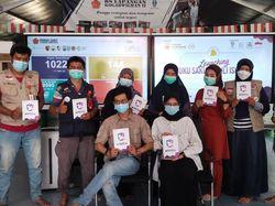 Bermanfaat, Relawan Pendamping RSLI Launching Buku Saku Peduli Isoman