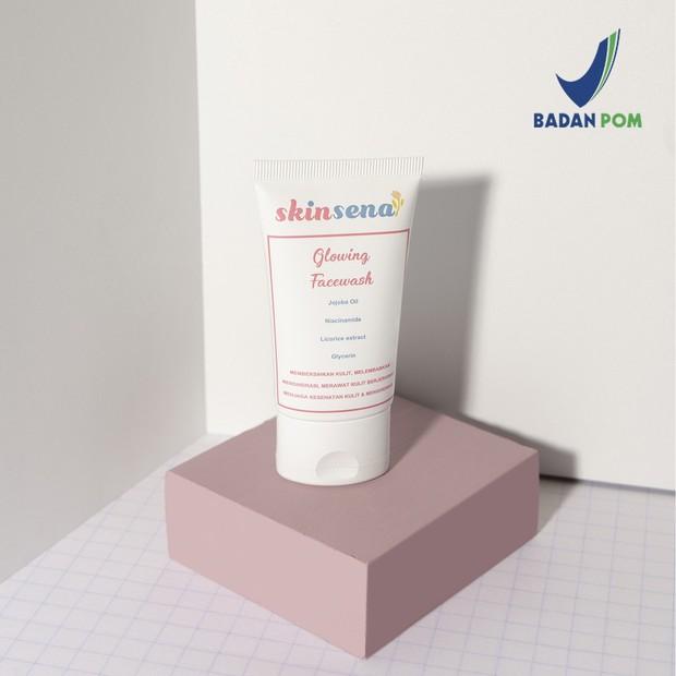 Skincare murah dari Skinsena, Glowing Facewash