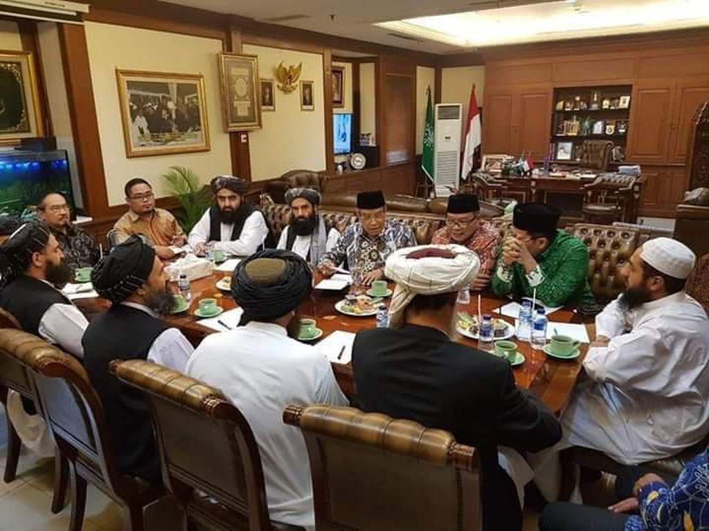 Bicara soal Hak-hak Perempuan, Ketum PBNU Dimarahi Taliban