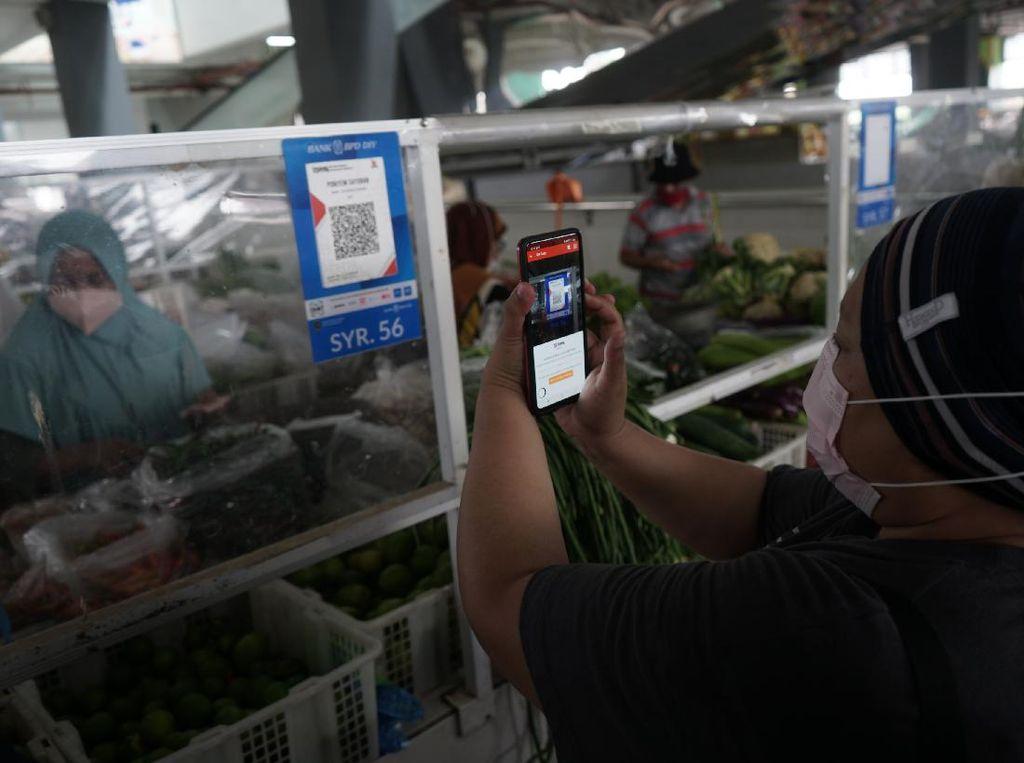 Transaksi Non Tunai di Pasar Tradisional