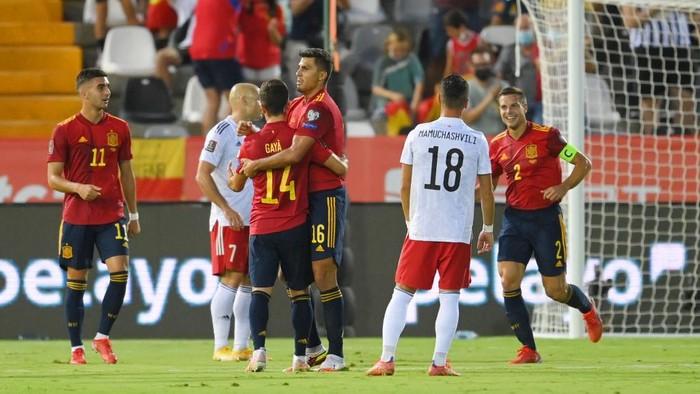 Spanyol Vs Georgia: La Furia Roja Berpesta 4-0 di Kandang