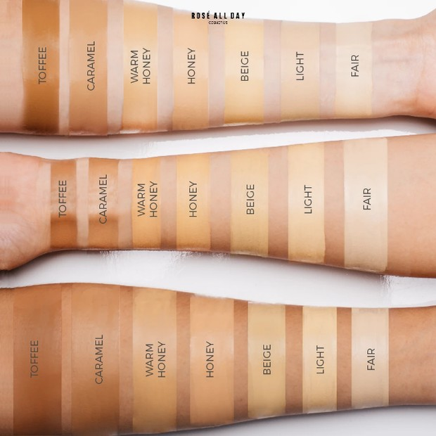 Arm Swatch Concealer Rose All Day