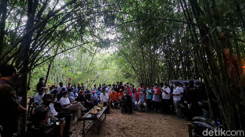 Asrinya Kampung Bambu yang Dikunjungi Sandiaga Uno di Sukabumi