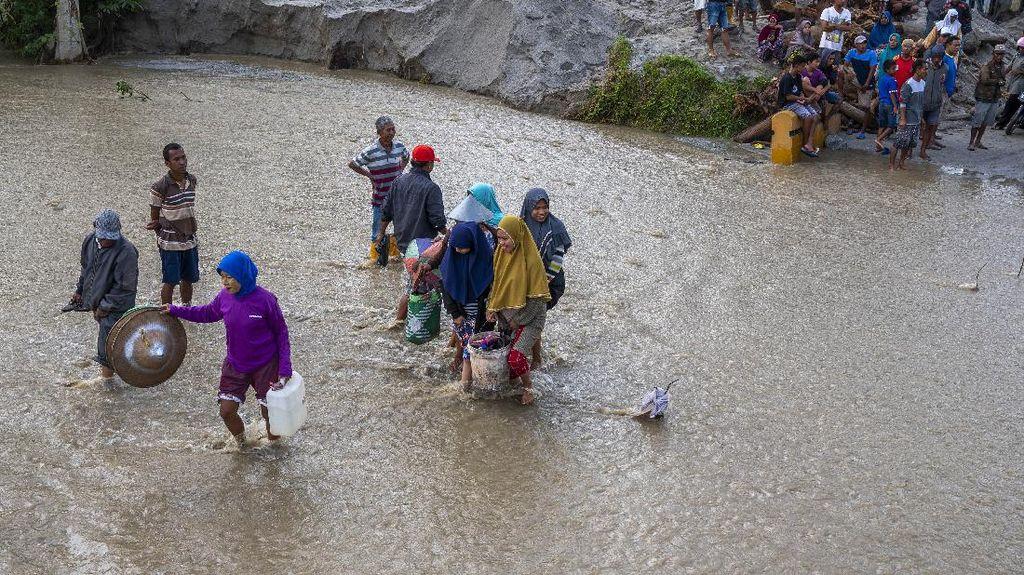 Banjir Bandang Susulan Terjang Sigi, Warga Kembali Mengungsi