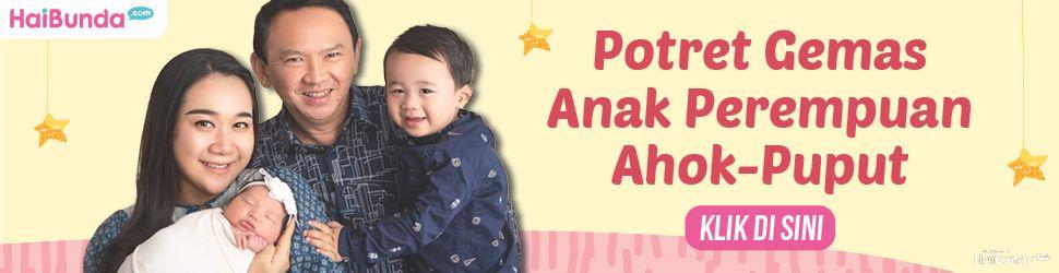 Banner Putri Ahok dan Puput