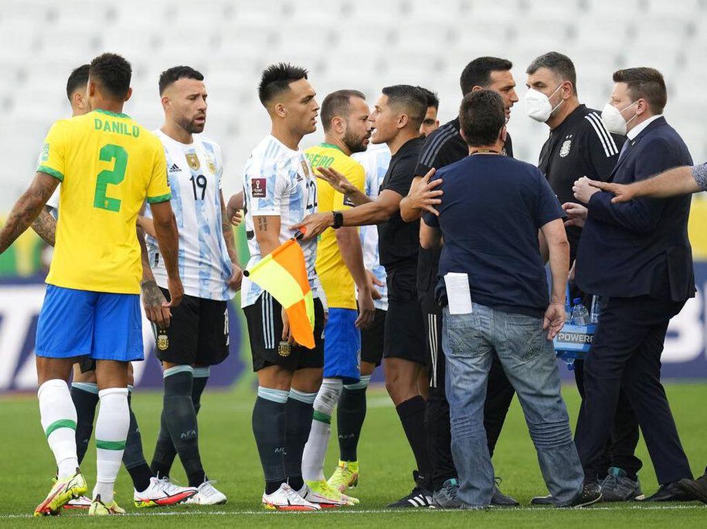 Argentina Sudah Pede Kalahkan Brasil, eh Duelnya Ditangguhkan
