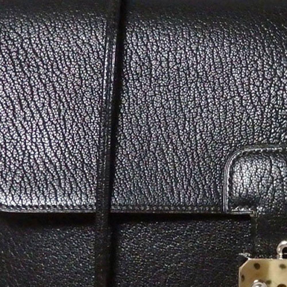 Hermès Chevre de Coromandel Leather