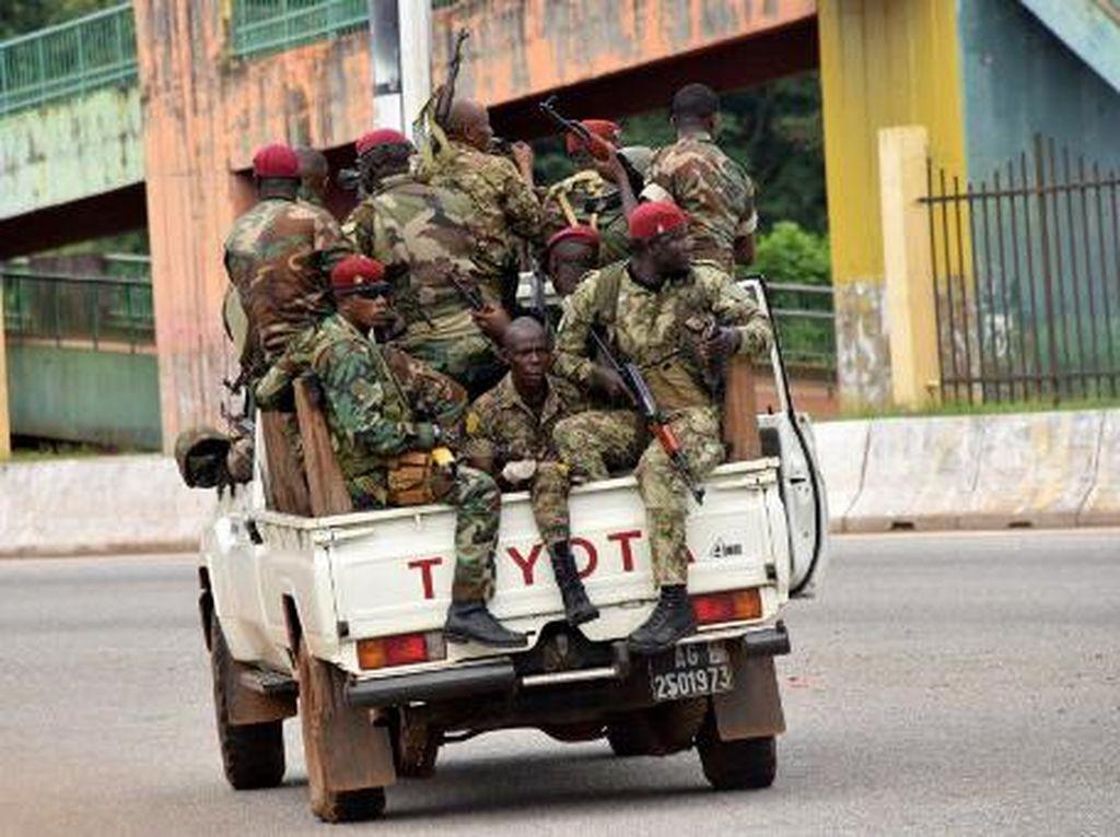 Kudeta di Guinea, Presiden Diculik-Perbatasan Ditutup