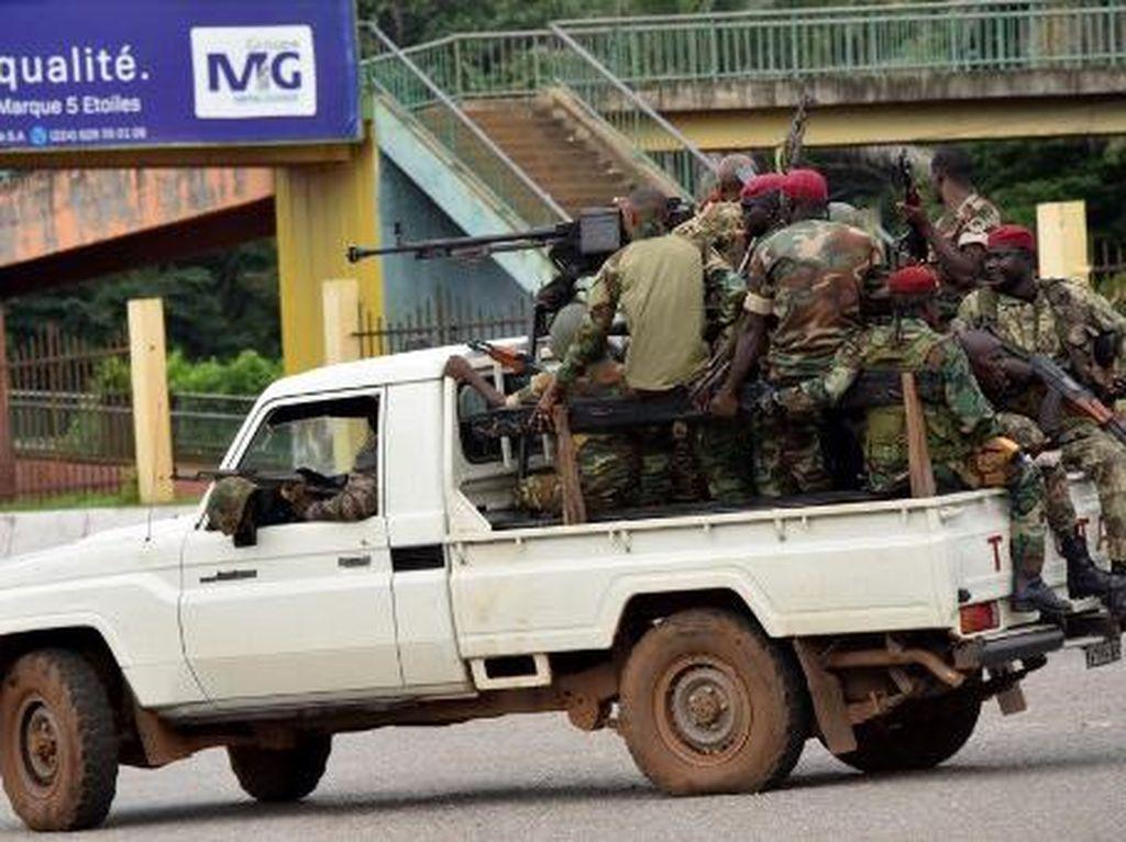 Militer Kudeta Presiden Guinea, Kepala Daerah Juga Diganti