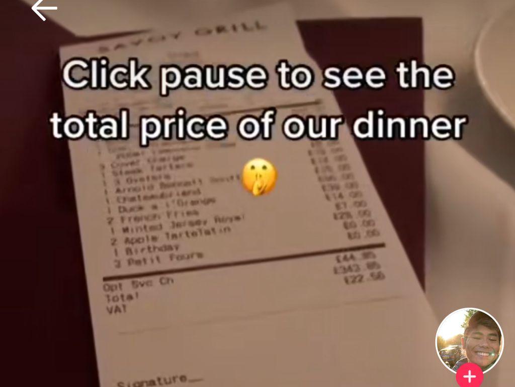 Makan di Restoran Gordon Ramsay, Netizen Ini Bilang Harganya Murah