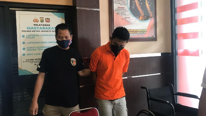 Pelaku Pembunuhan Wanita Telanjang di Hotel Jaksel Ditangkap
