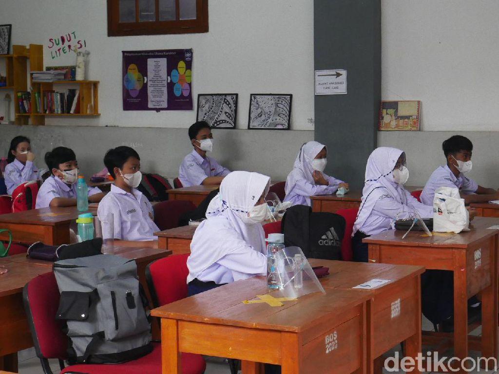 Siswa TK hingga SMP di Cimahi Mulai Jalani PTM