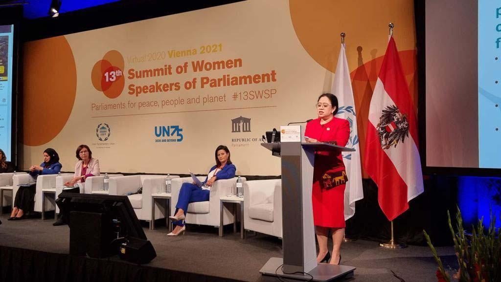 Puan Jadi Pembicara Pertemuan Ketua Parlemen Dunia