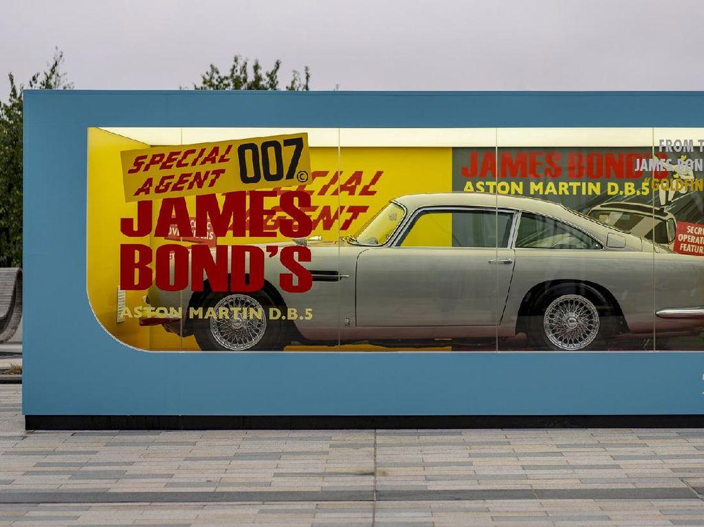 Sambut Film James Bond Terbaru, Aston Martin Rilis Replika DB5