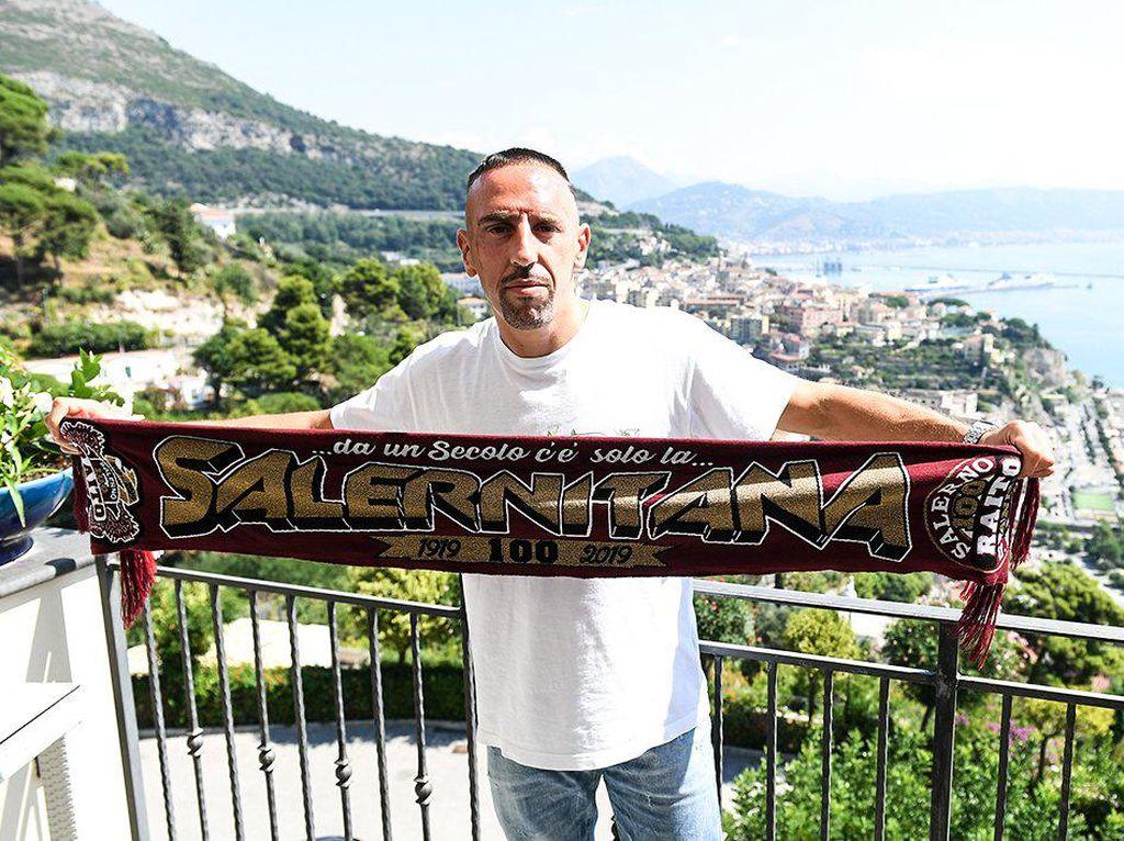Franck Ribery Lanjutkan Karier Bersama Salernitana