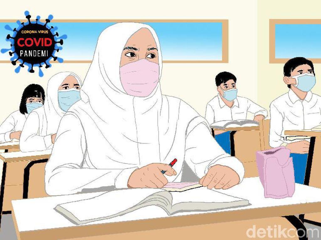 PPKM Jakarta Belum Turun Level, Sekolah Tatap Muka Terbatas Lanjut?