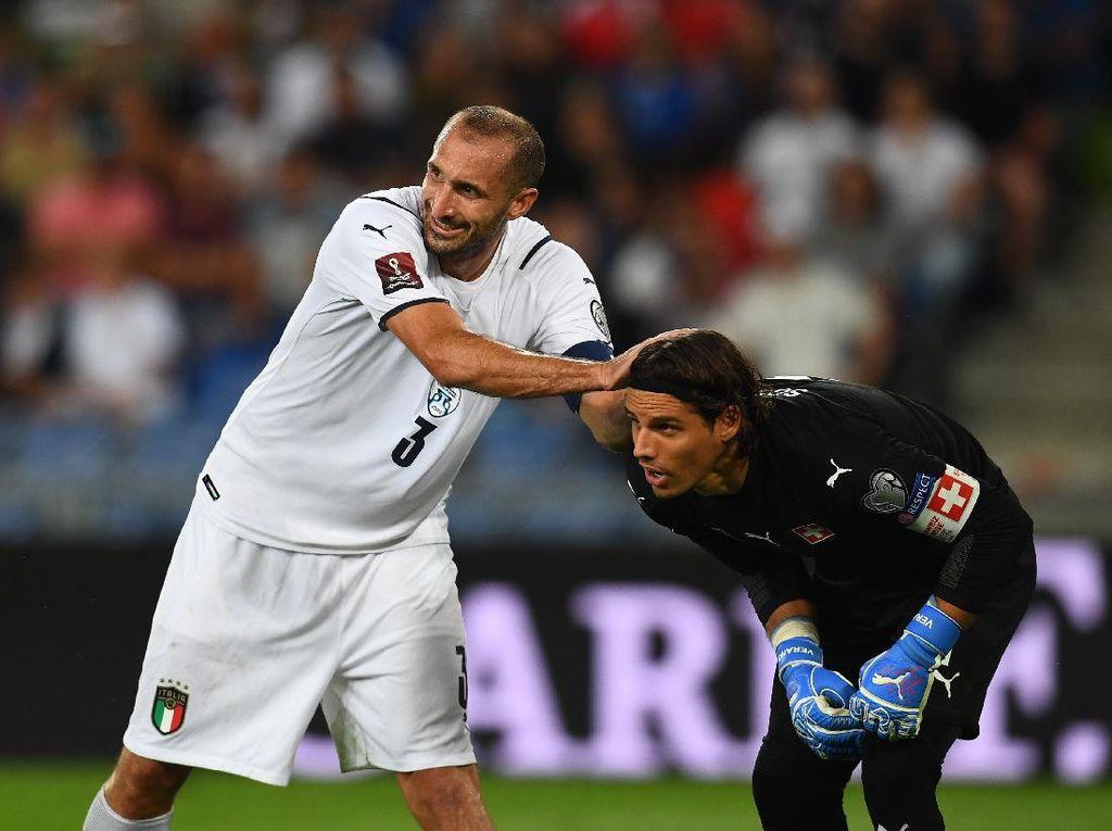 Swiss Vs Italia: Gli Azzurri Ditahan Imbang Tanpa Gol