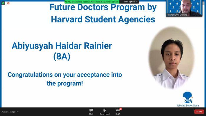 Patut Jadi Contoh, Ini Dia Siswa 13 Tahun yang Lolos Program Pra Kedokteran di Harvard