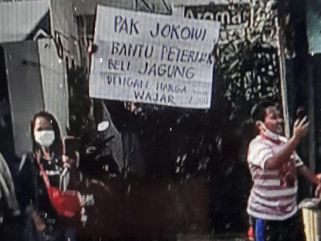 Peternak hingga Mahasiswa Ditangkap saat Bentang Poster untuk Jokowi