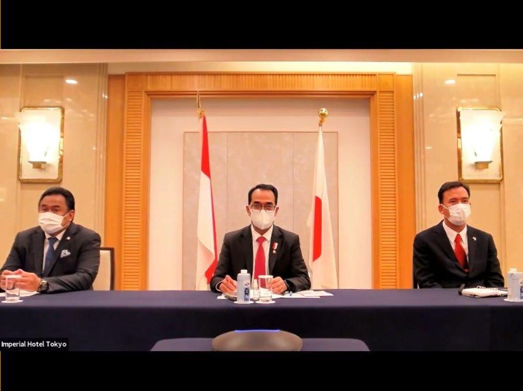 Kunker ke Jepang, Menhub Bahas Pembangunan MRT hingga Pelabuhan Patimban