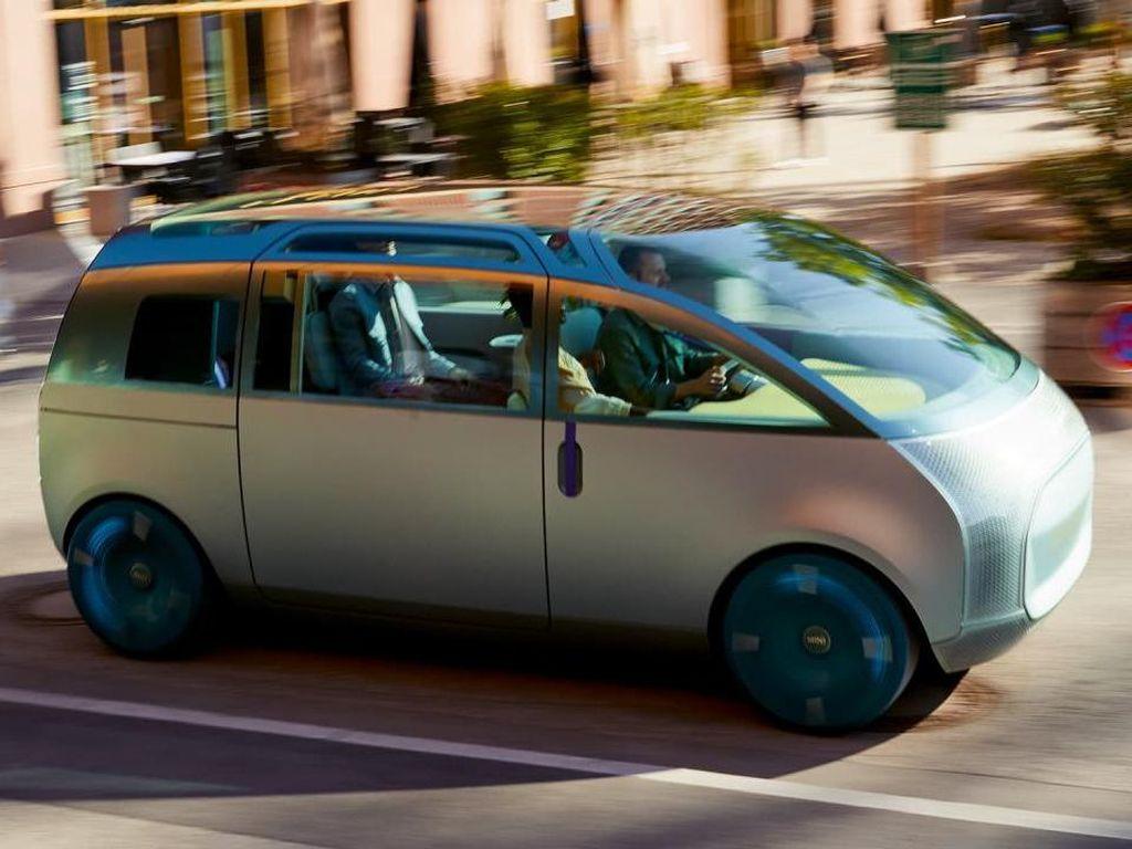 MINI Pamer Mobil Konsep Radikal: MPV Lega yang Berpeluang Diproduksi