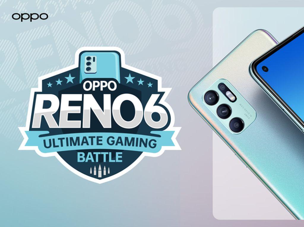OPPO Gelar Reno6 Ultimate Gaming Battle dengan Bigetron, Daftar di Sini