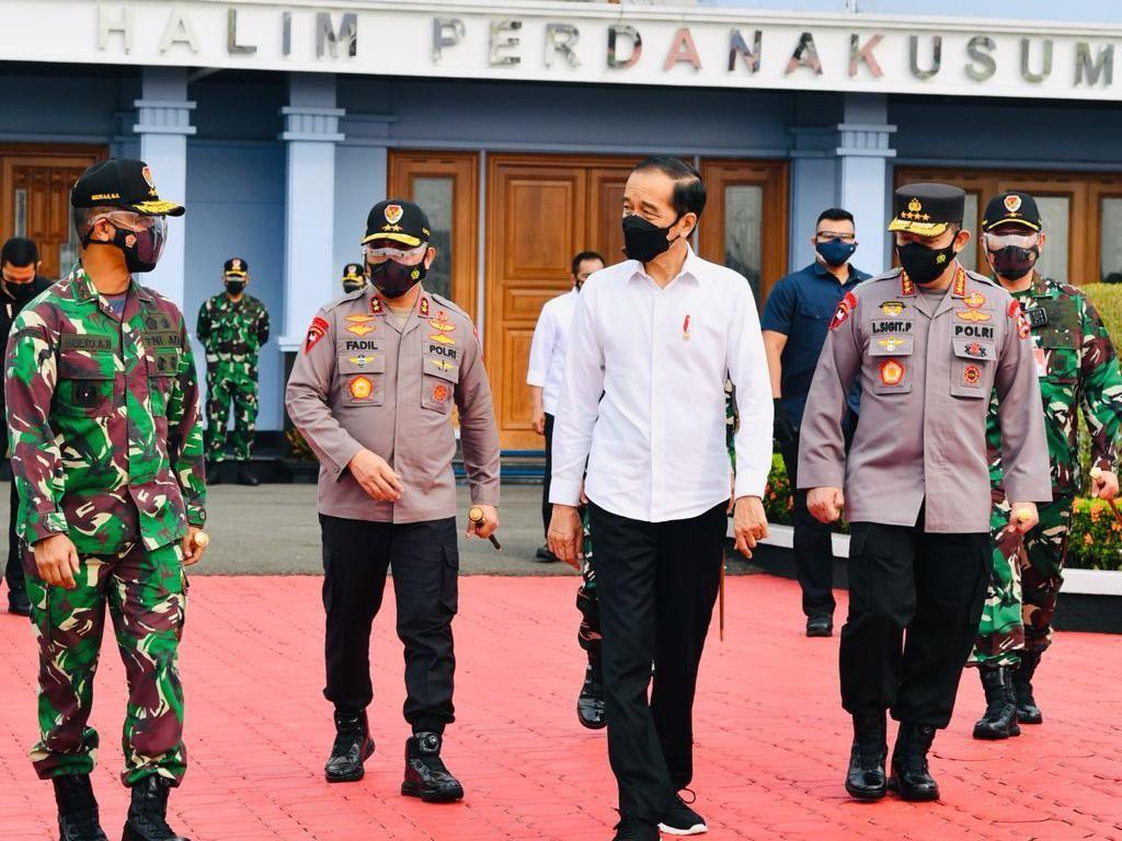 Pengumuman! Jokowi Sebut Proyek Penangkal Banjir Jakarta Selesai November