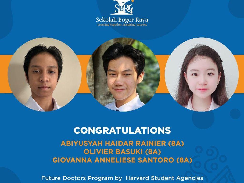 Program Medis Harvard Student Agencies Terima 3 Siswa SMP di Bogor, Ini Kisahnya